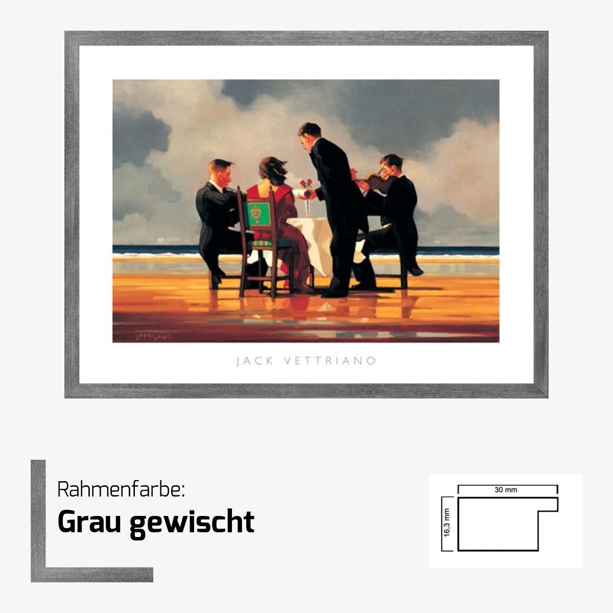 kunstdruck vettriano dead admiral 80 x 60 cm optional bilderrahmen cliprahmen ebay. Black Bedroom Furniture Sets. Home Design Ideas