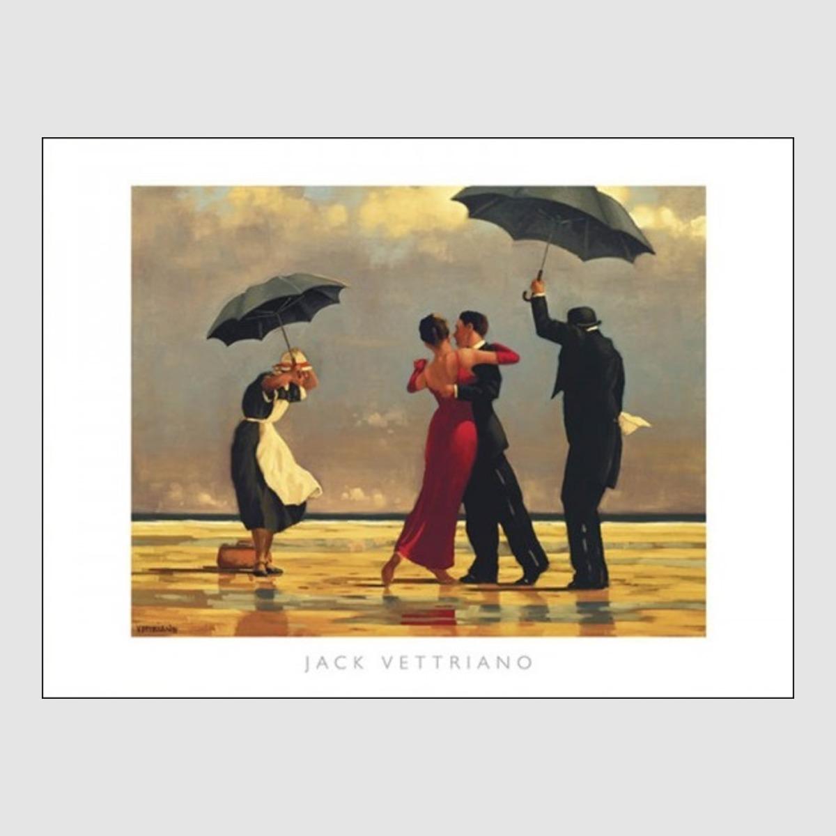 kunstdruck vettriano singing butler 80 x 60 cm optional bilderrahmen cliprahmen ebay. Black Bedroom Furniture Sets. Home Design Ideas