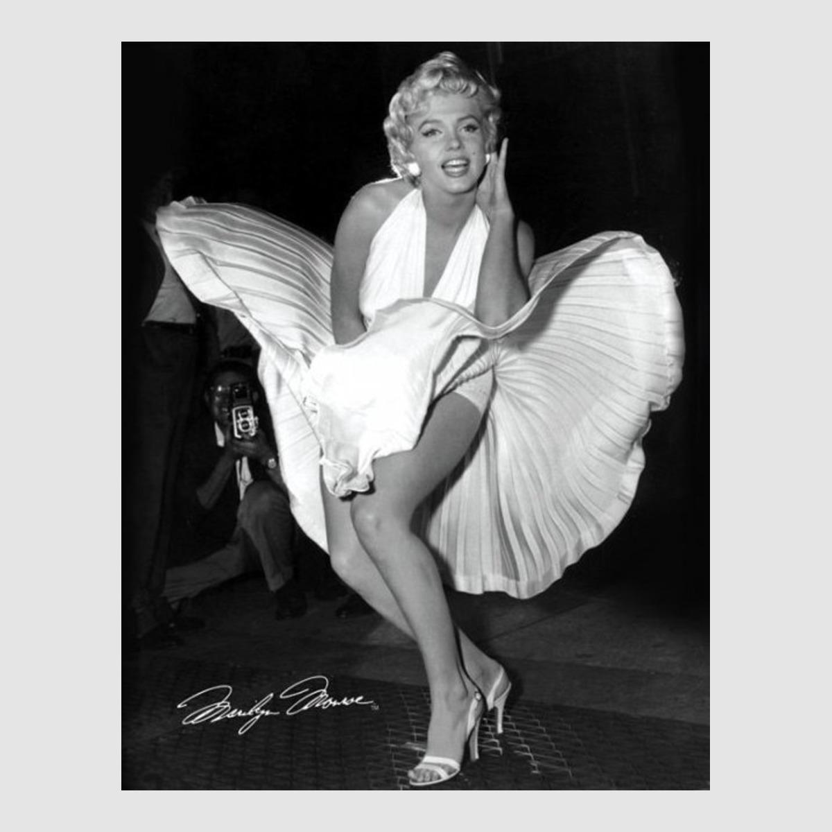 Kunstdruck Bild 40 x 50 cm Marilyn Monroe 7 Year optional ...