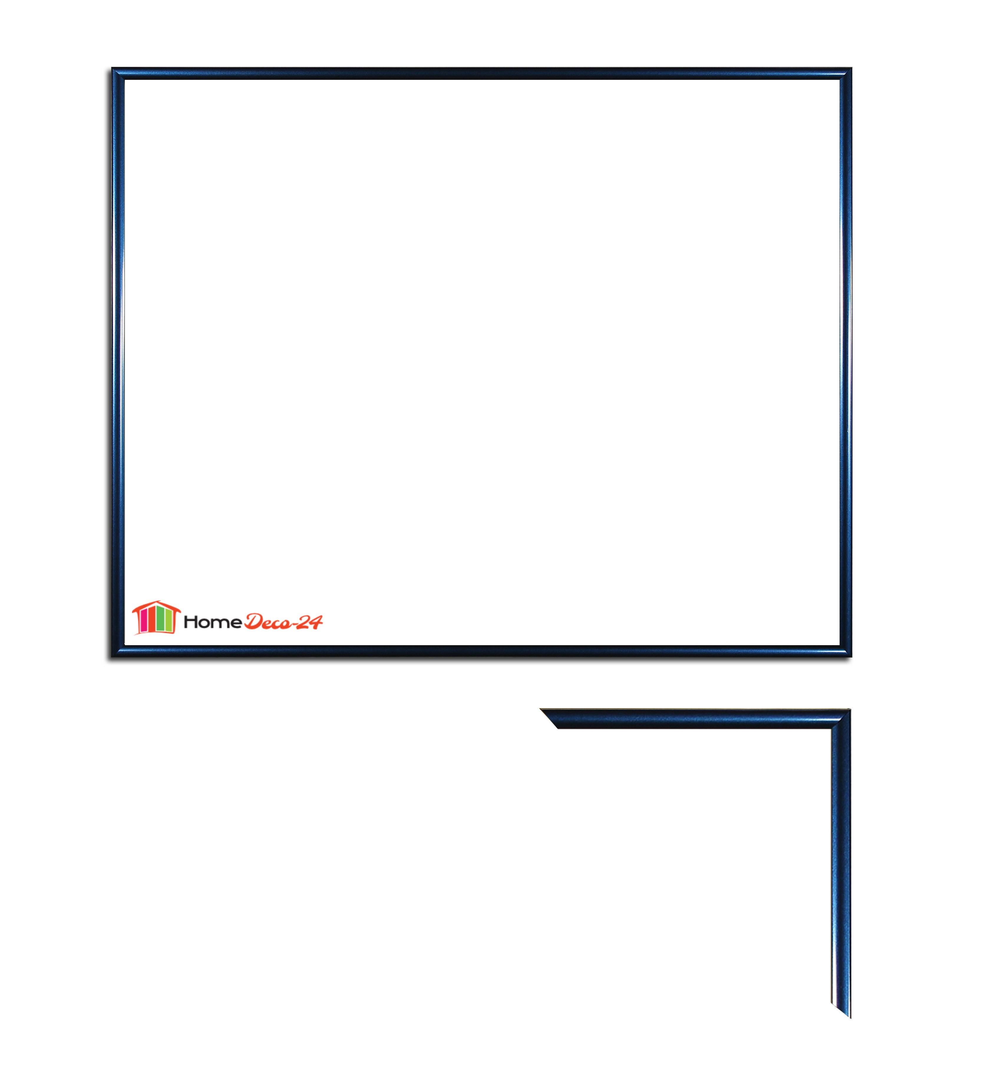 kunststoff bilderrahmen 80 x 100 cm easy 100 x 80 cm farbwahl ebay. Black Bedroom Furniture Sets. Home Design Ideas