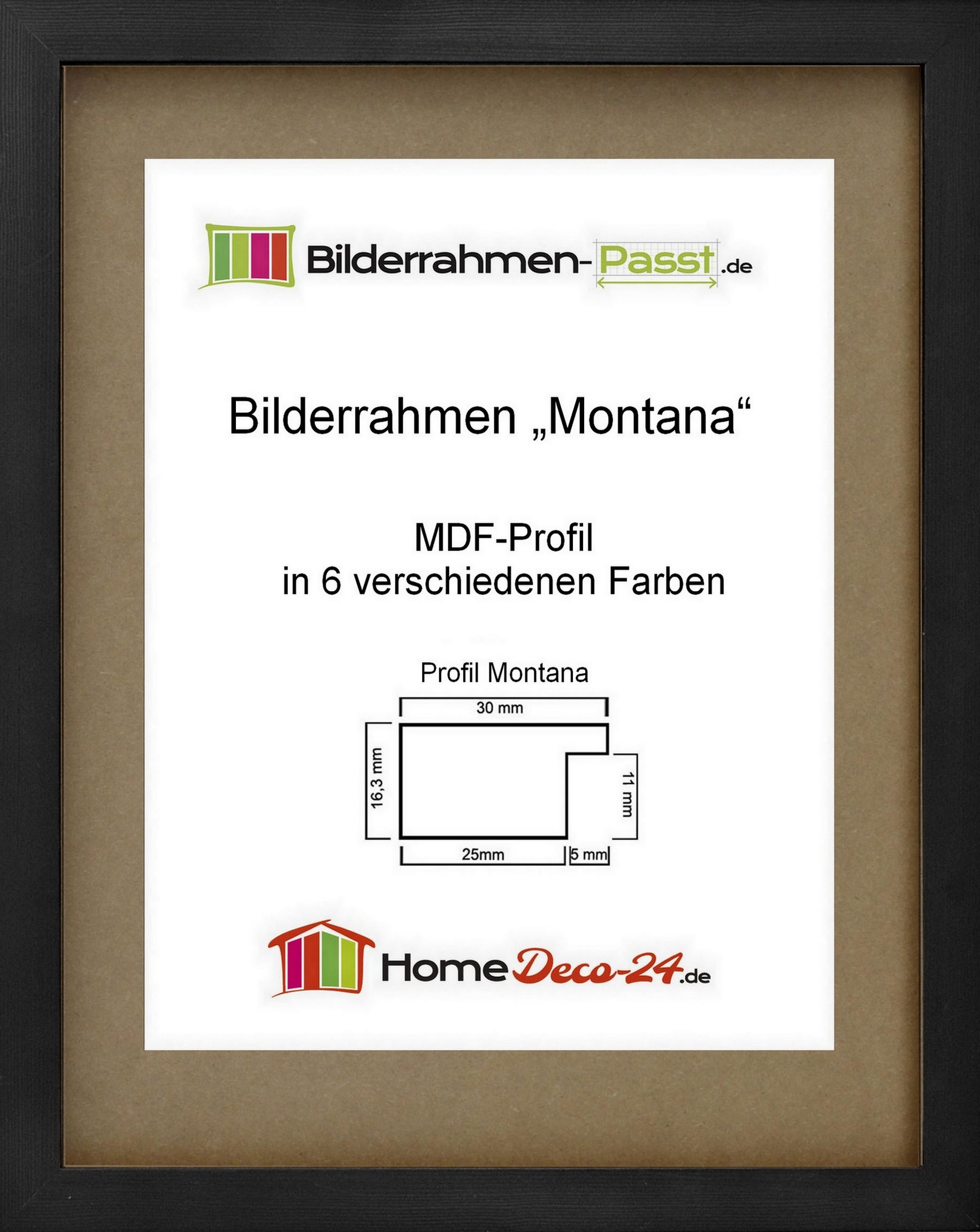 bilderrahmen montana acrylglas klar wahl farbe und gr e. Black Bedroom Furniture Sets. Home Design Ideas