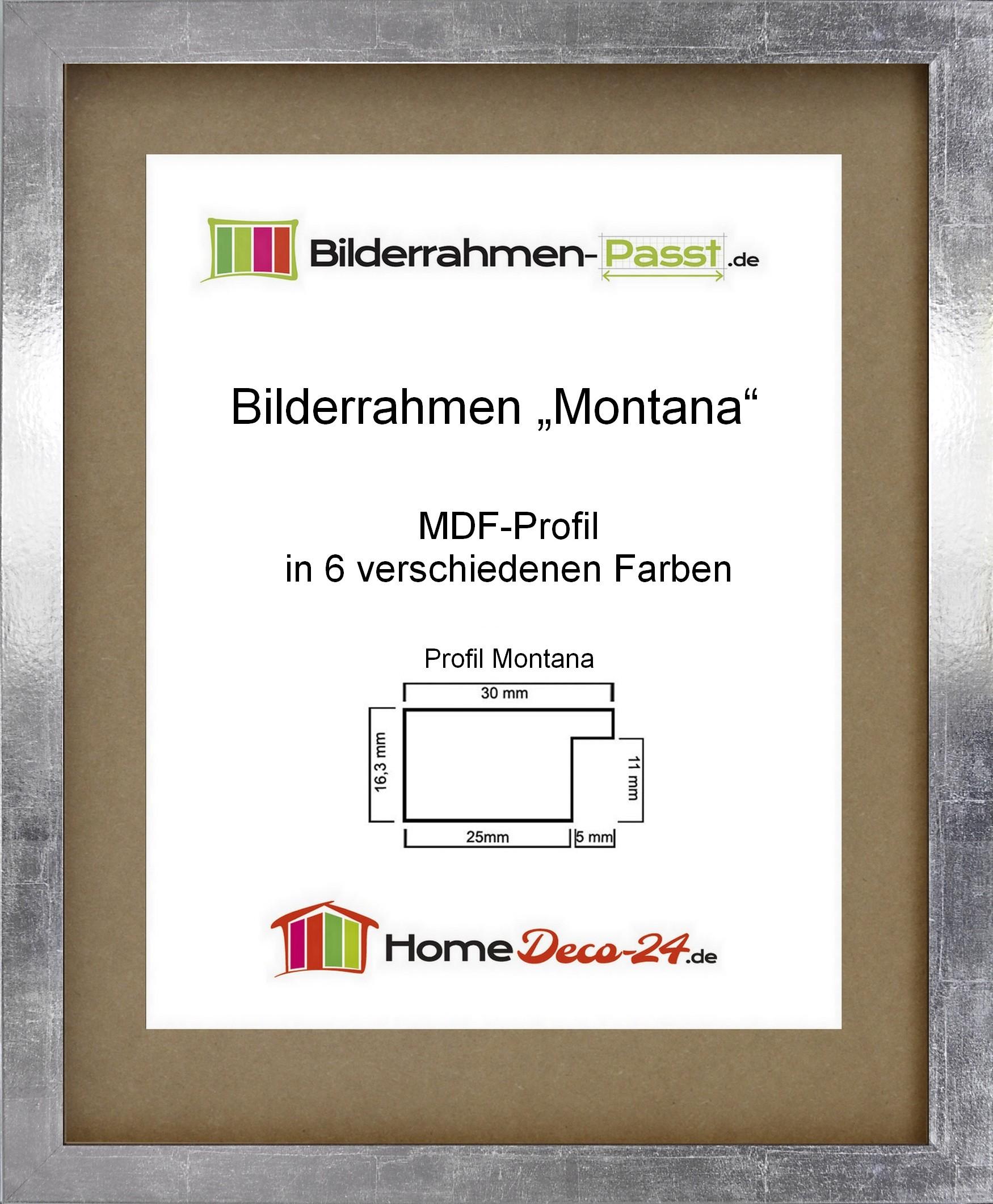 Bilderrahmen MONTANA Acrylglas klar Wahl: Farbe und Größe Poster ...