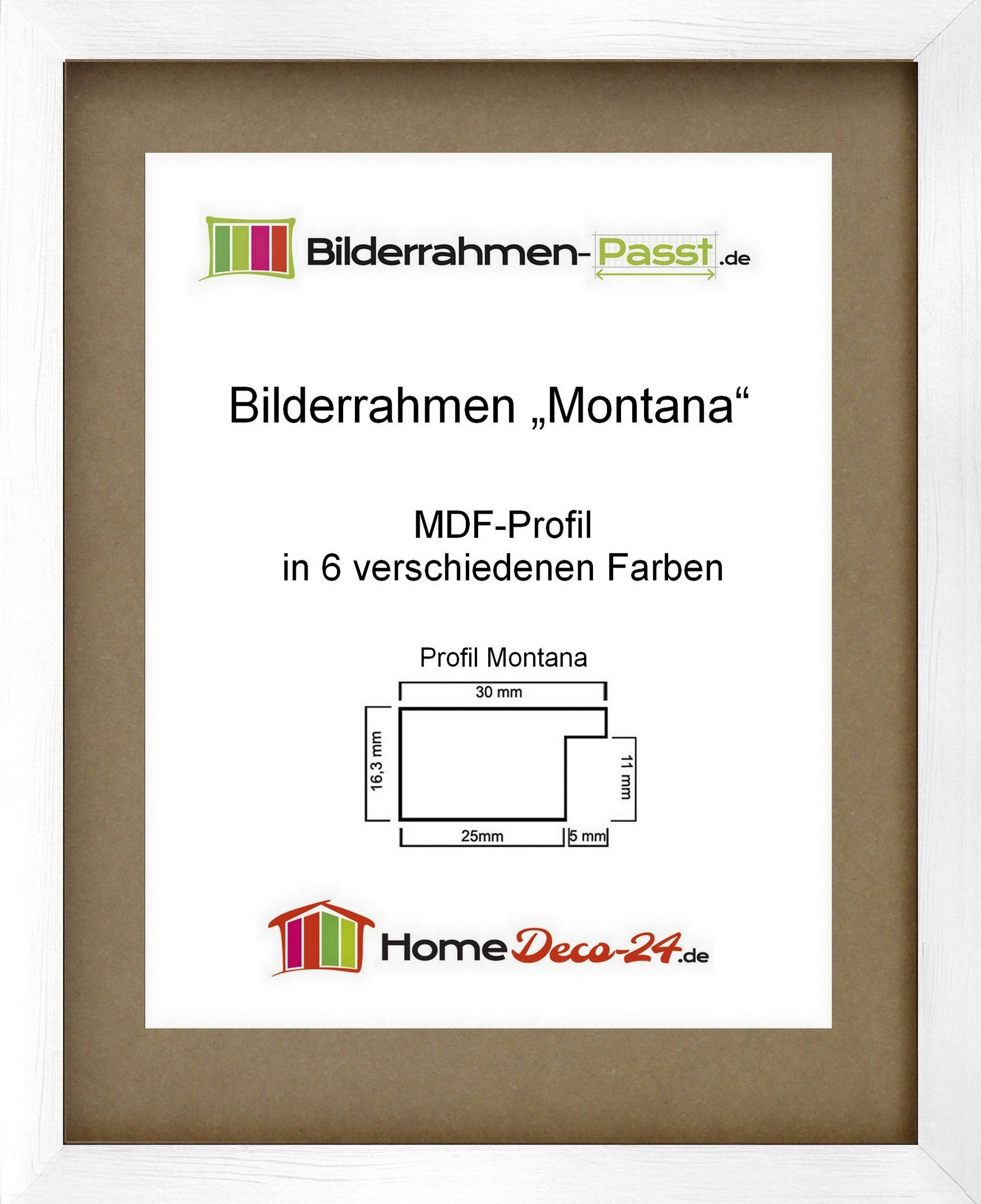 bilderrahmen montana acrylglas klar wahl farbe und gr e. Black Bedroom Furniture Sets. Home Design Ideas