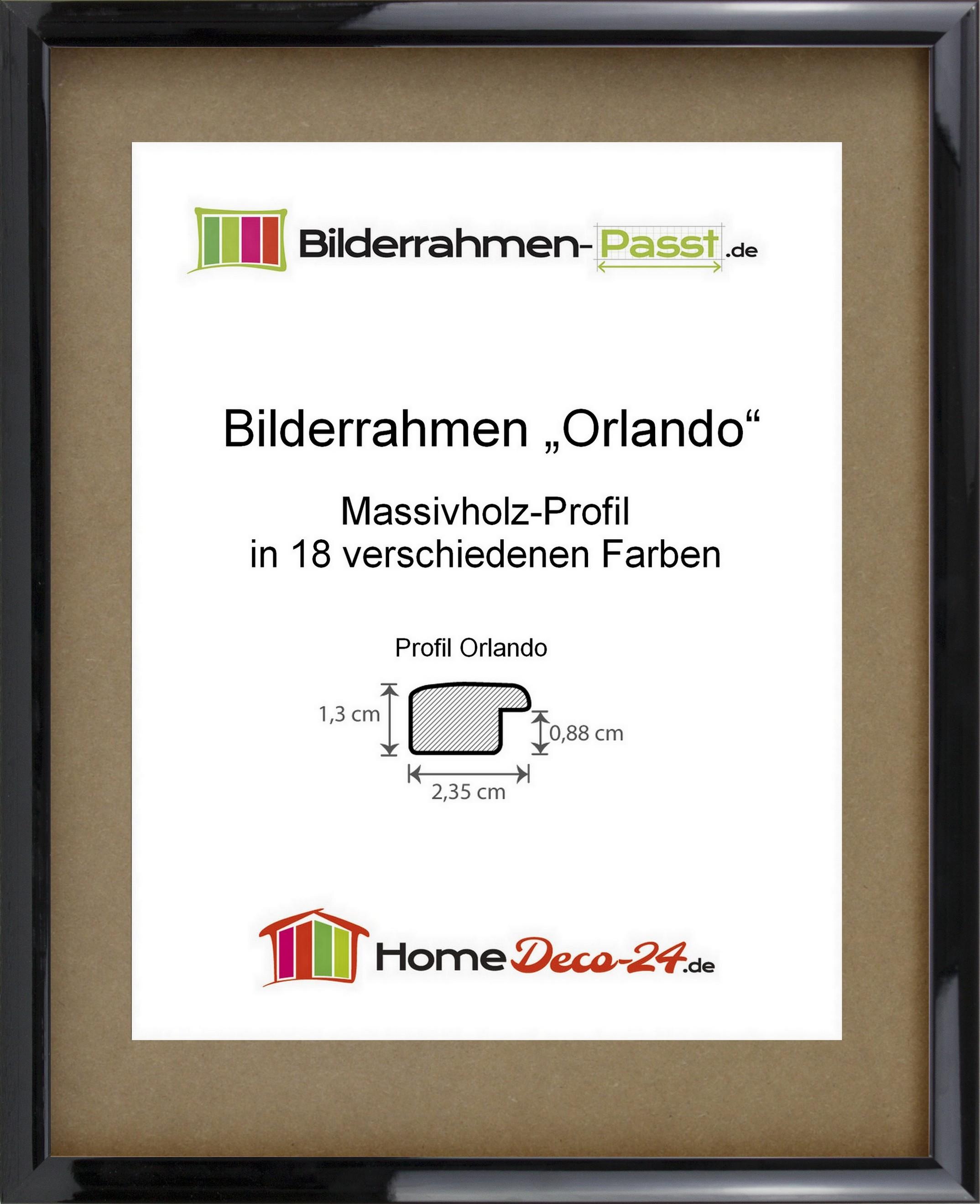 orlando massivholz bilderrahmen farbwahl gr ssenwahl standard gr ssen a neu ebay. Black Bedroom Furniture Sets. Home Design Ideas